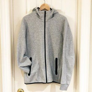 Uniqlo Dry Stretch Full-Zip Grey Hoodie